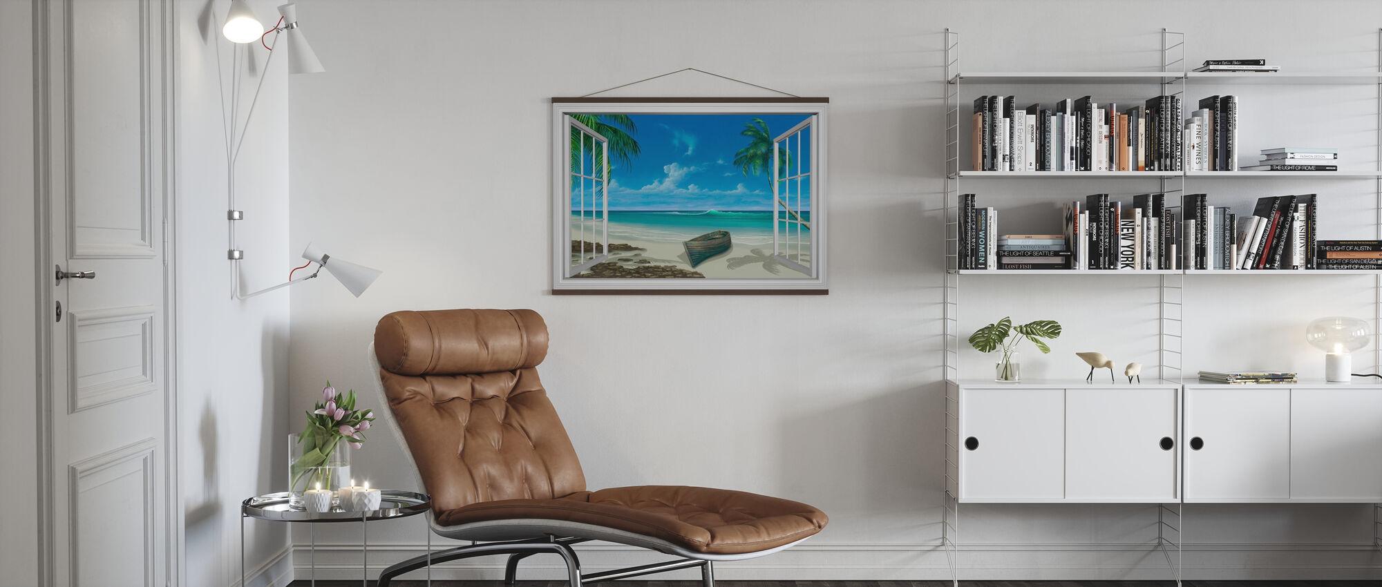 Flucht ins Paradies - Poster - Wohnzimmer