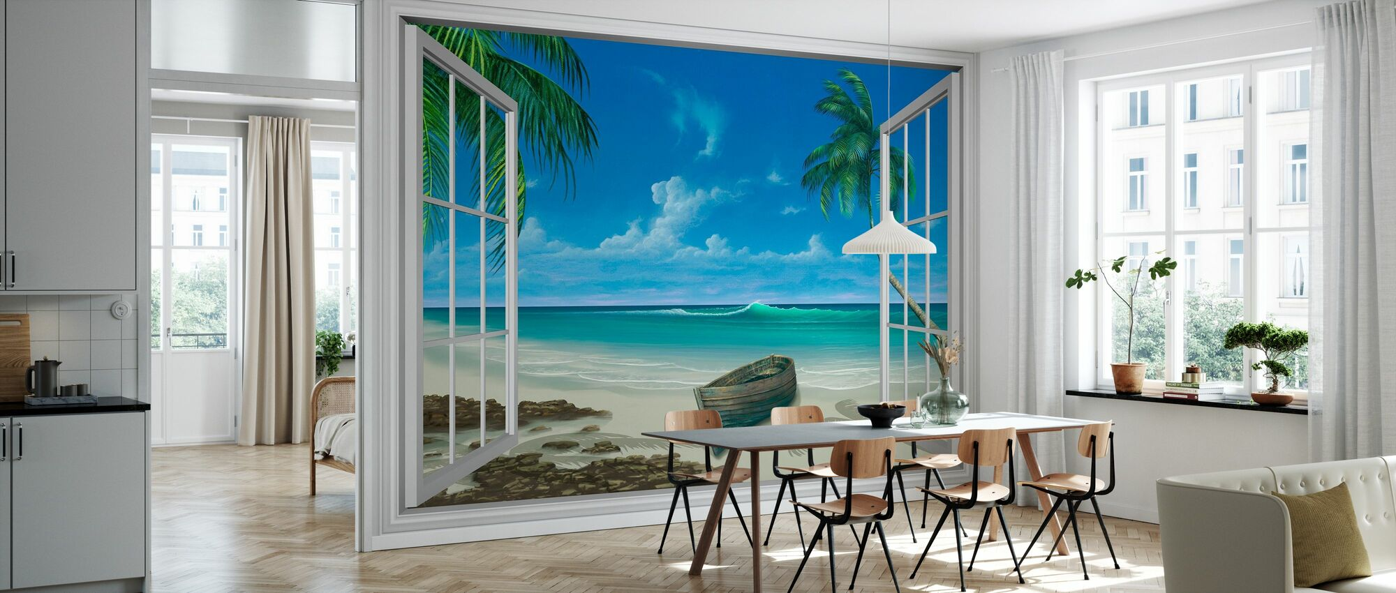 Escape to Paradise - Wallpaper - Kitchen