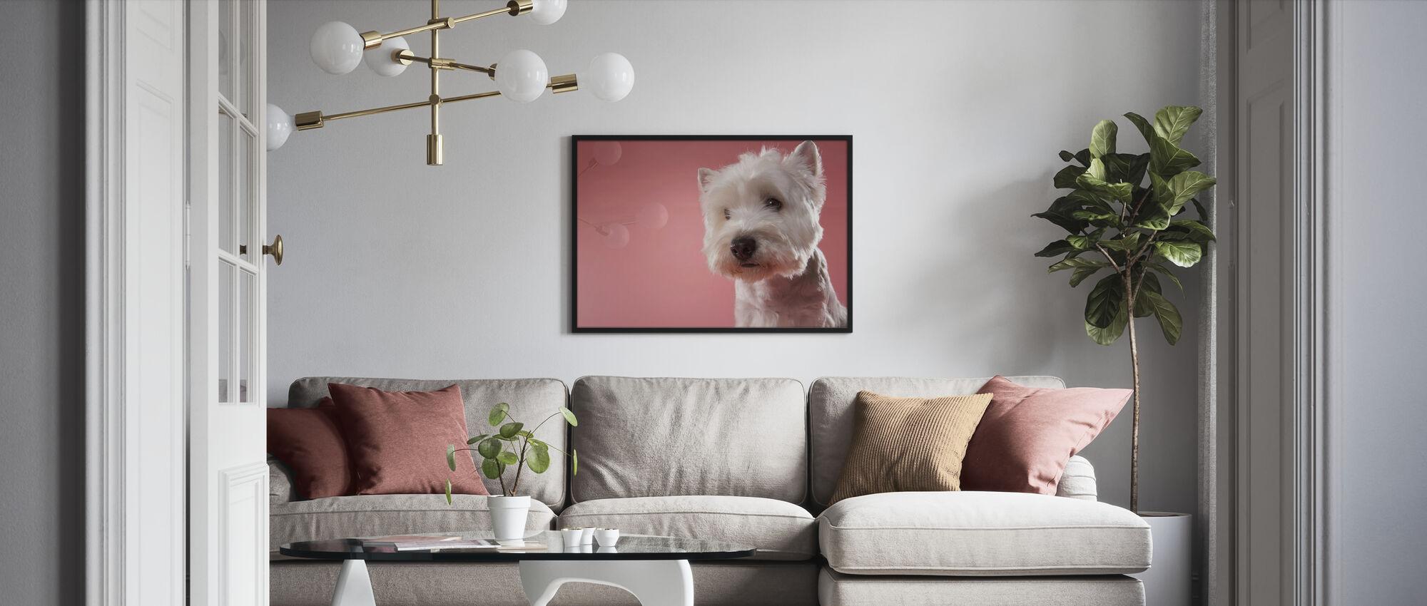 West Highland-Terrier - Poster - Woonkamer