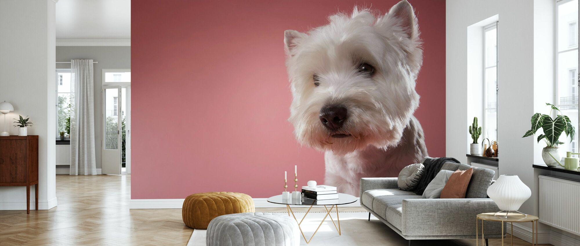 West Highland Terrier - Carta da parati - Salotto