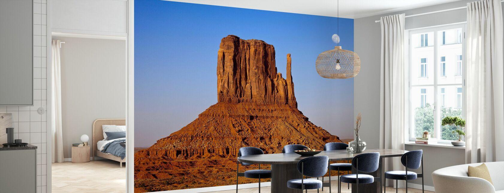 Monument Valley bei Sonnenuntergang - Tapete - Küchen