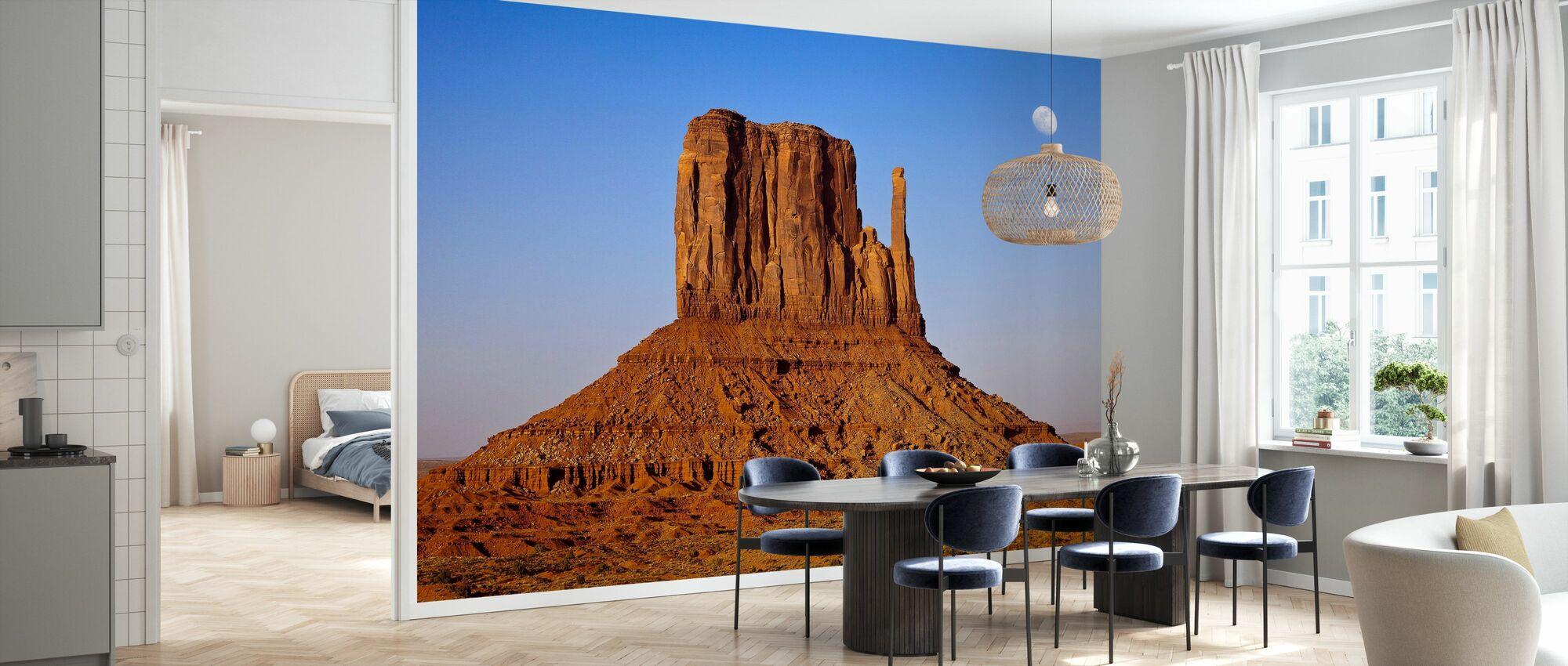 Monument Valley bij zonsondergang - Behang - Keuken