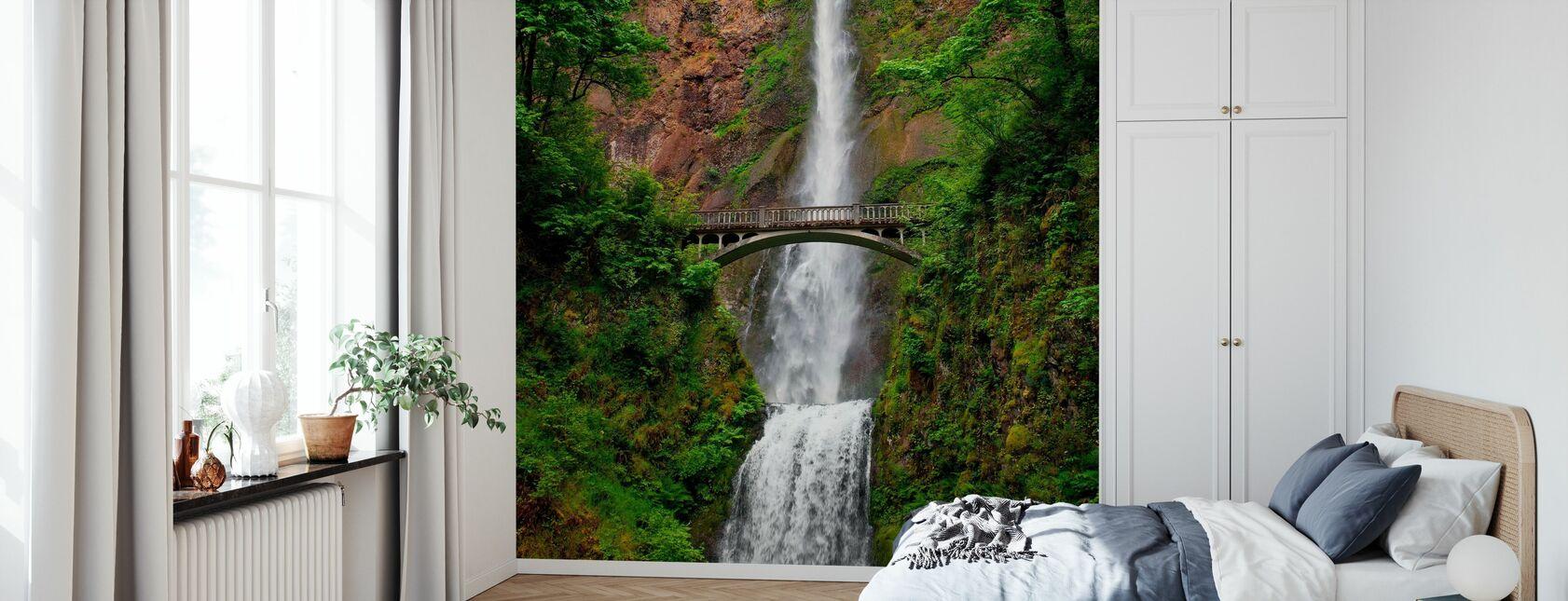 Cascate Multnomah - Carta da parati - Camera da letto