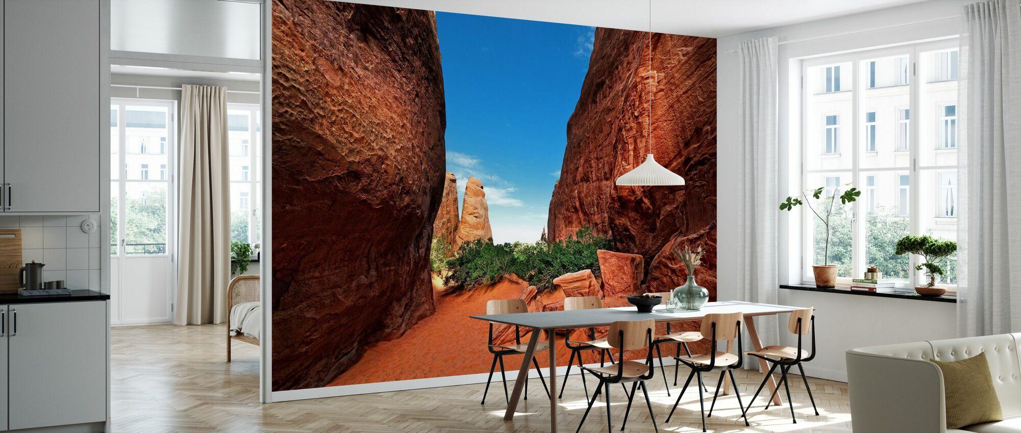 Canyon Light - Wallpaper - Kitchen