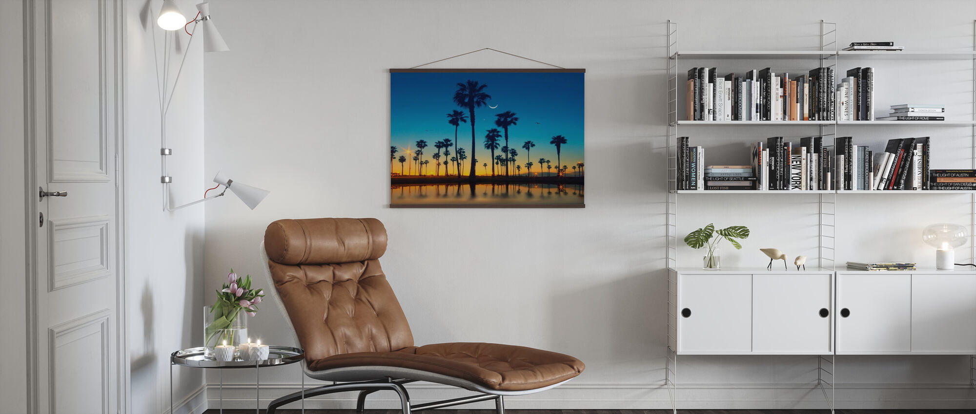 Row of Palm Trees - Poster - Living Room