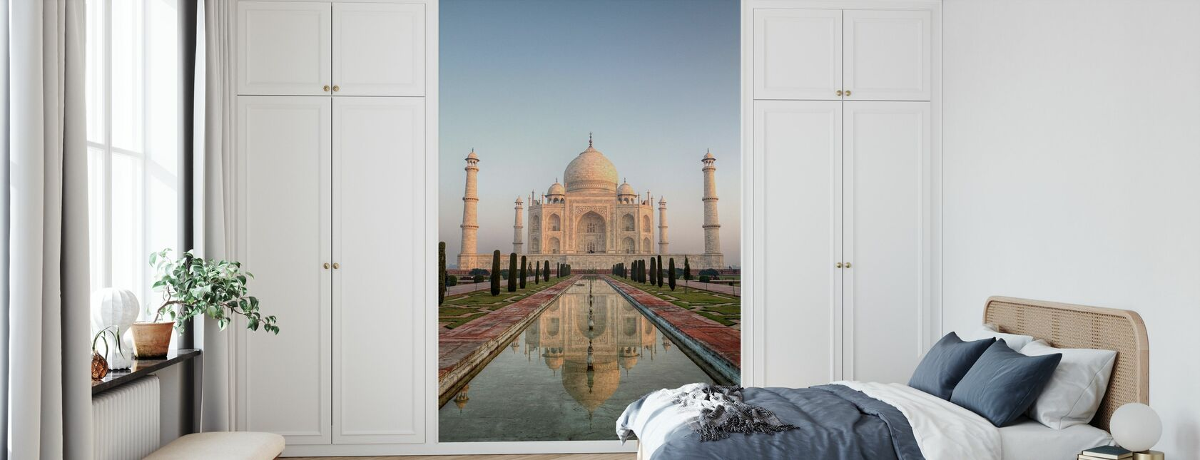 Sunrise at Taj Mahal - Wallpaper - Bedroom