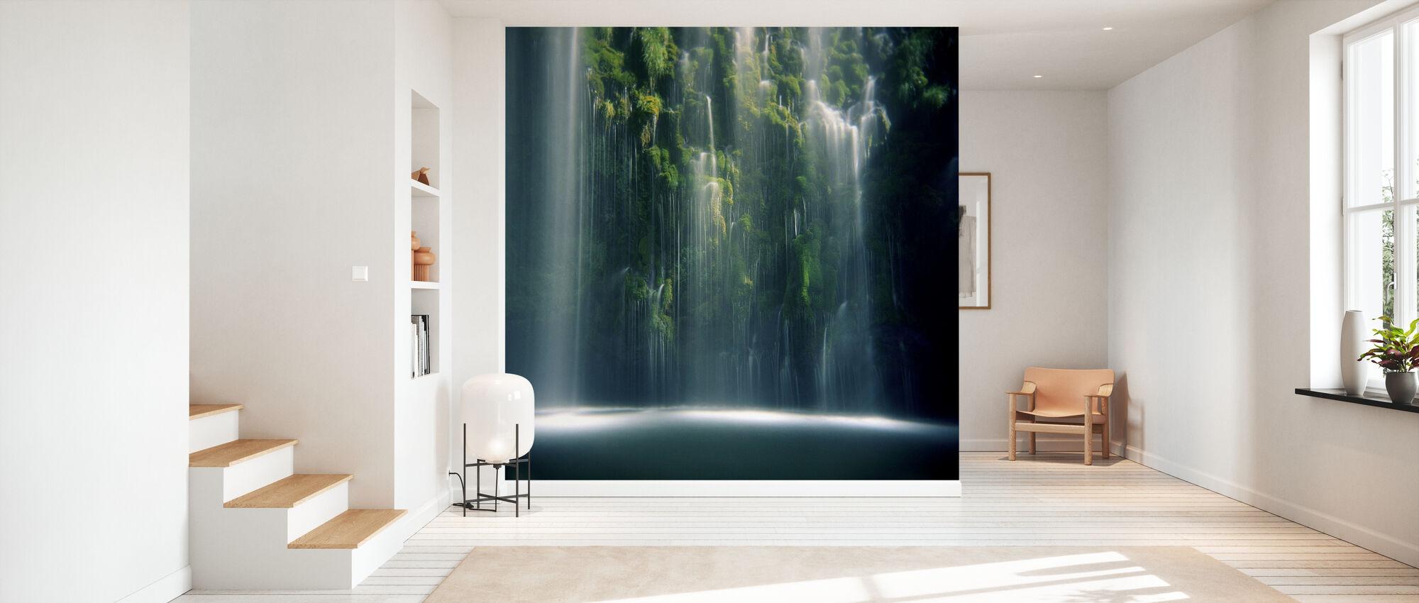 Mossbrae Falls in Sunlight - Wallpaper - Hallway