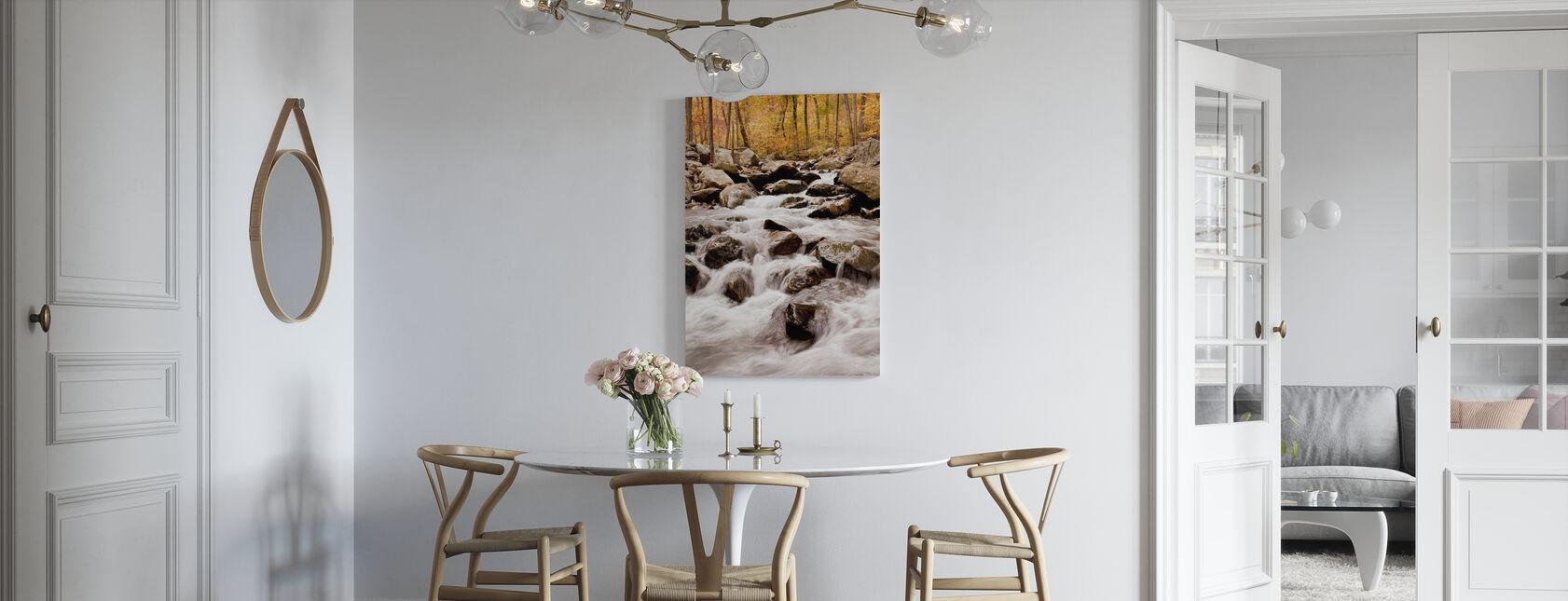 White Oak Canyon Falls - Canvas print - Kitchen
