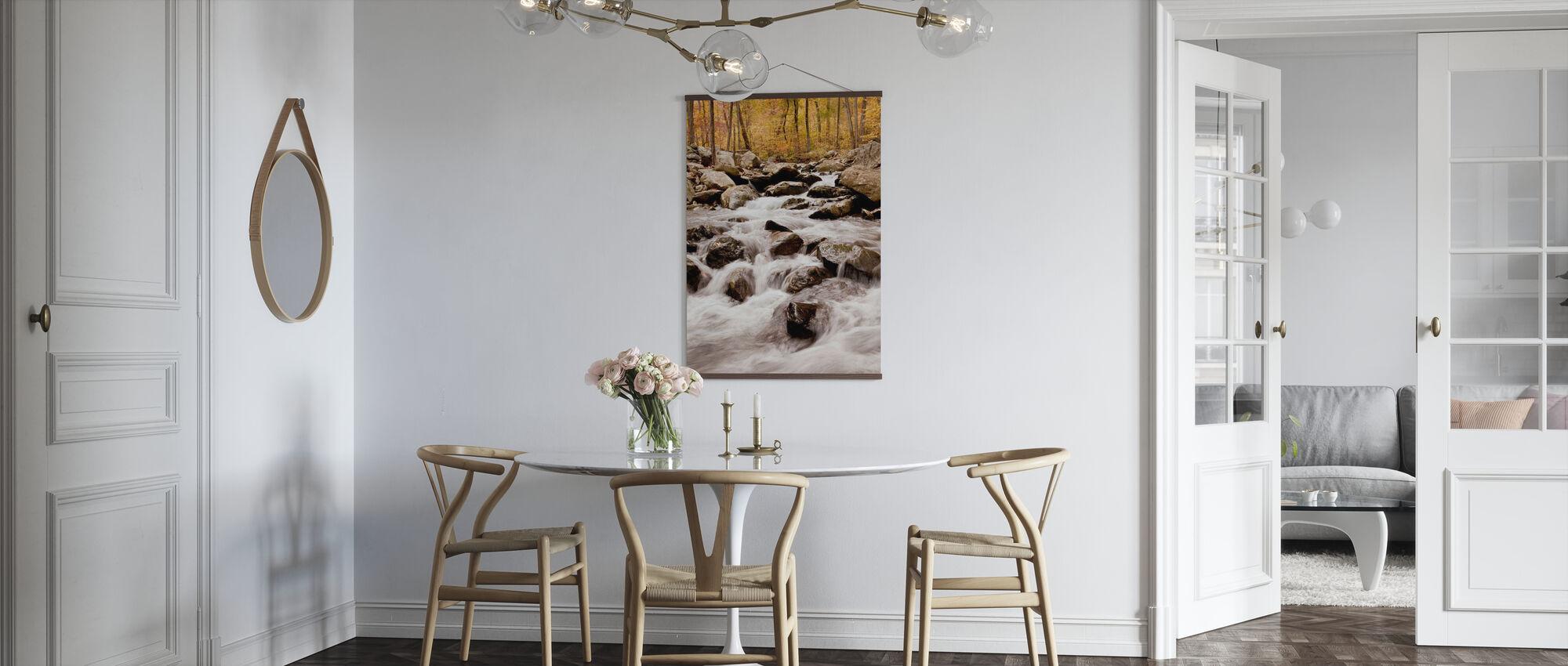 White Oak Canyon Falls - Poster - Küchen