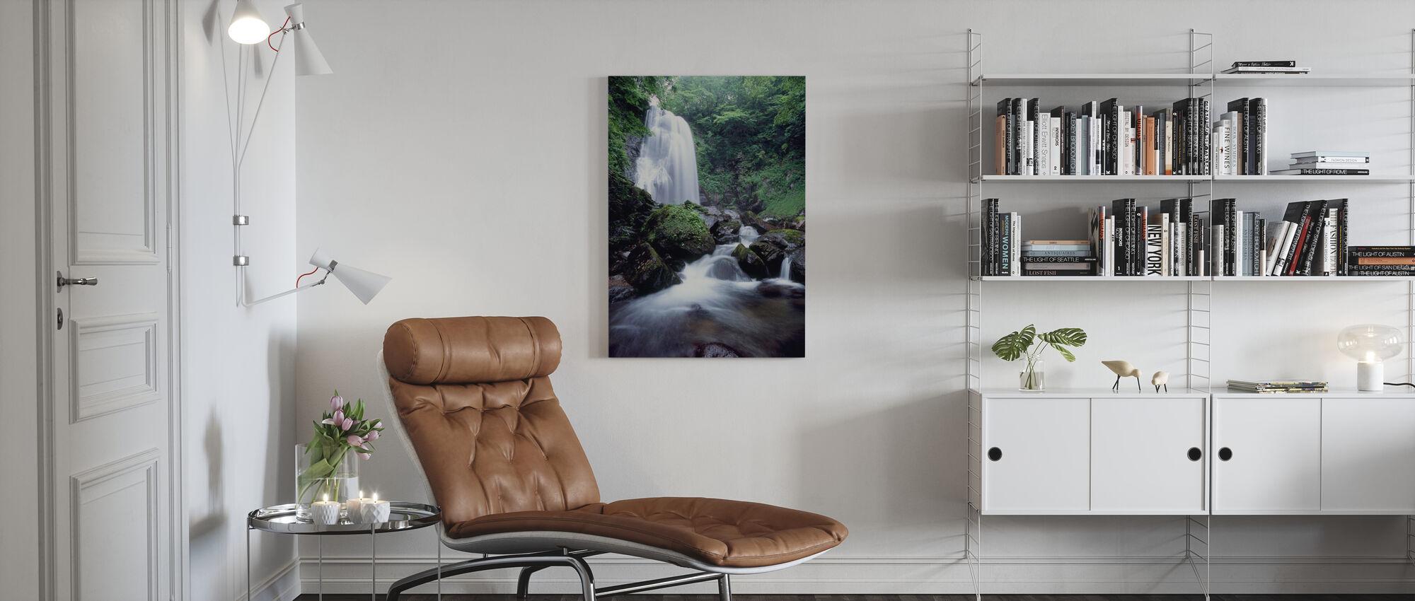 Beauty of Japan - Canvas print - Living Room