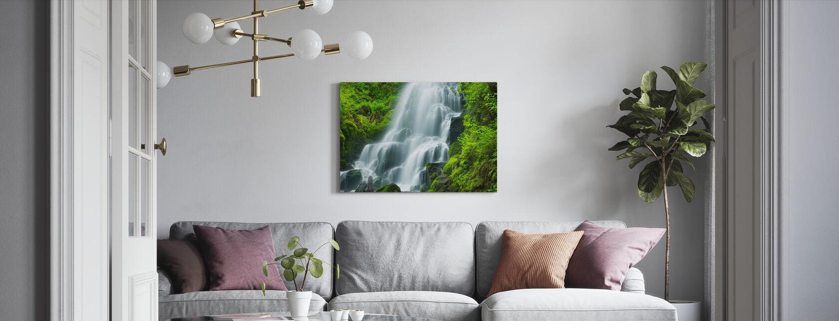 Fairy Falls - Canvastavla - Vardagsrum