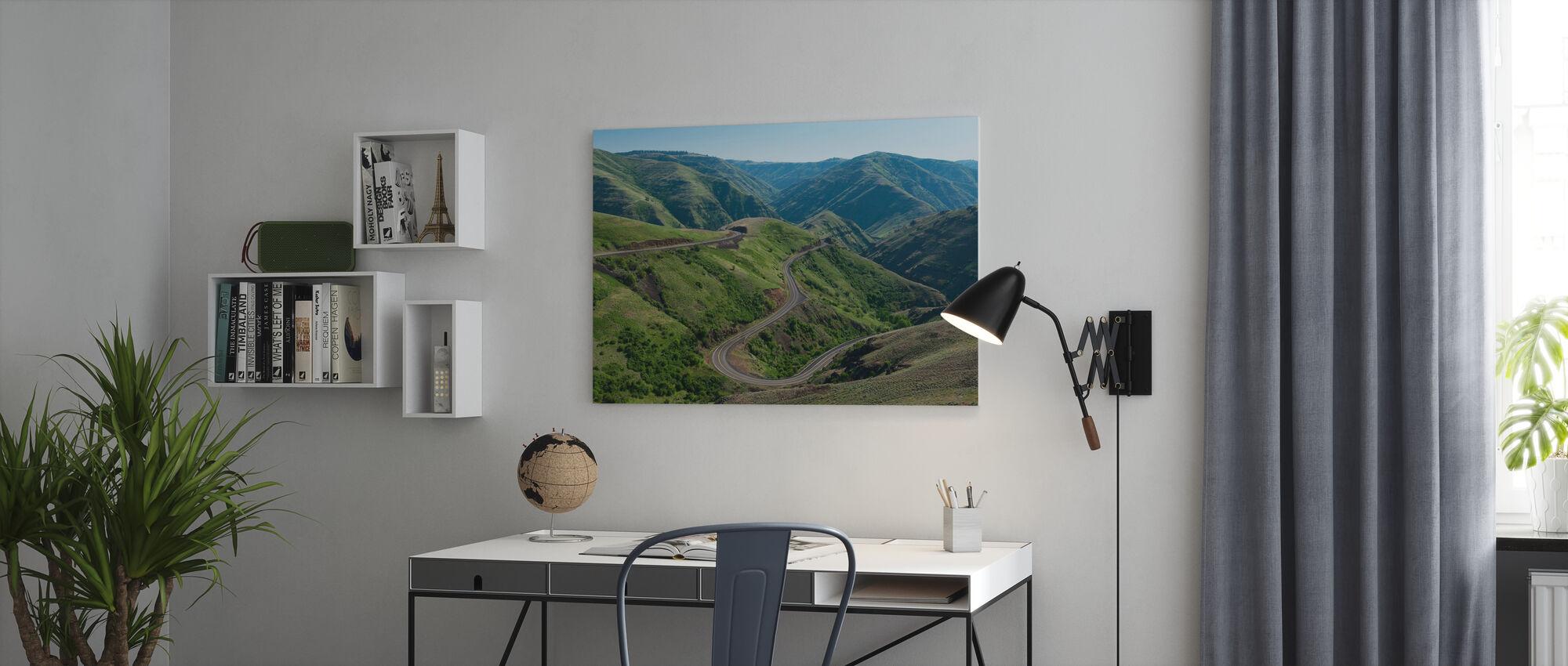 Asotin County - Canvas print - Office