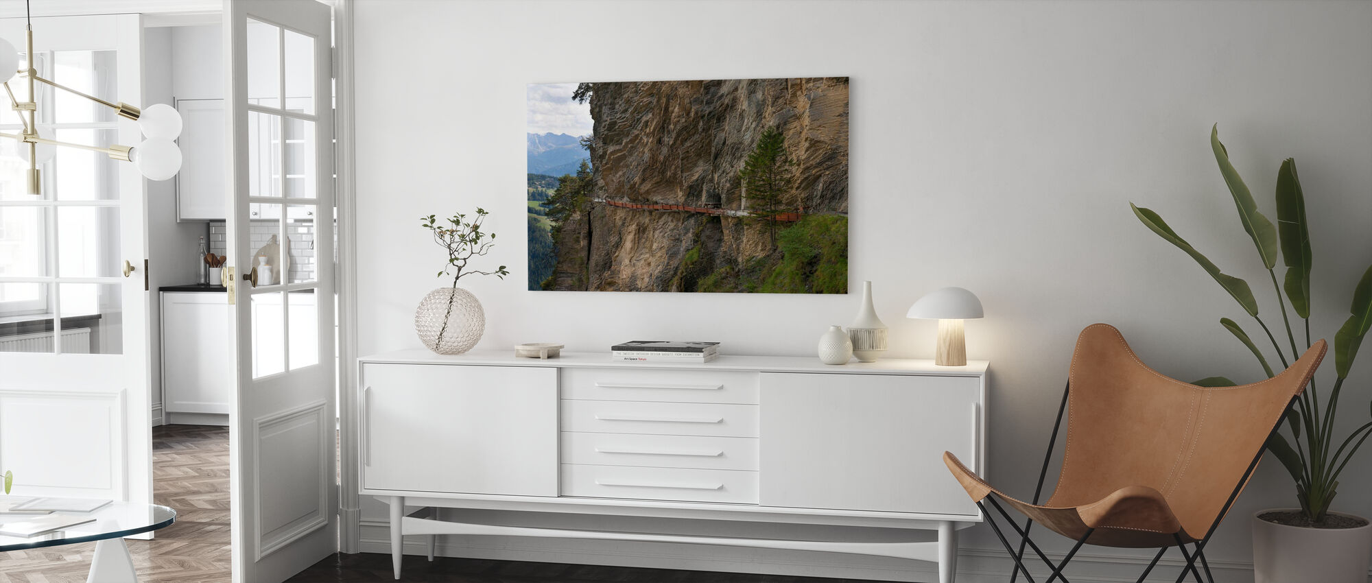 Irrigation Channel - Canvas print - Living Room