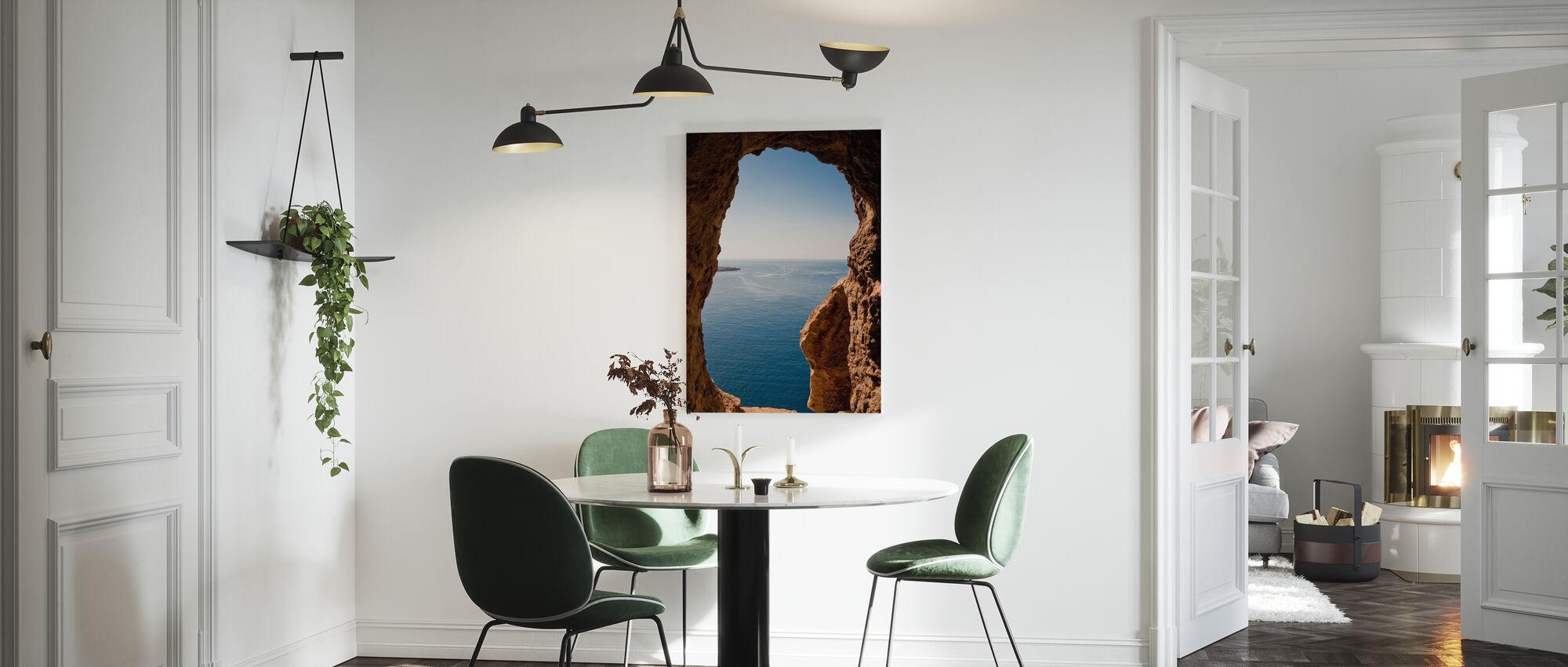 Menorcan Seascape - Canvas print - Keuken
