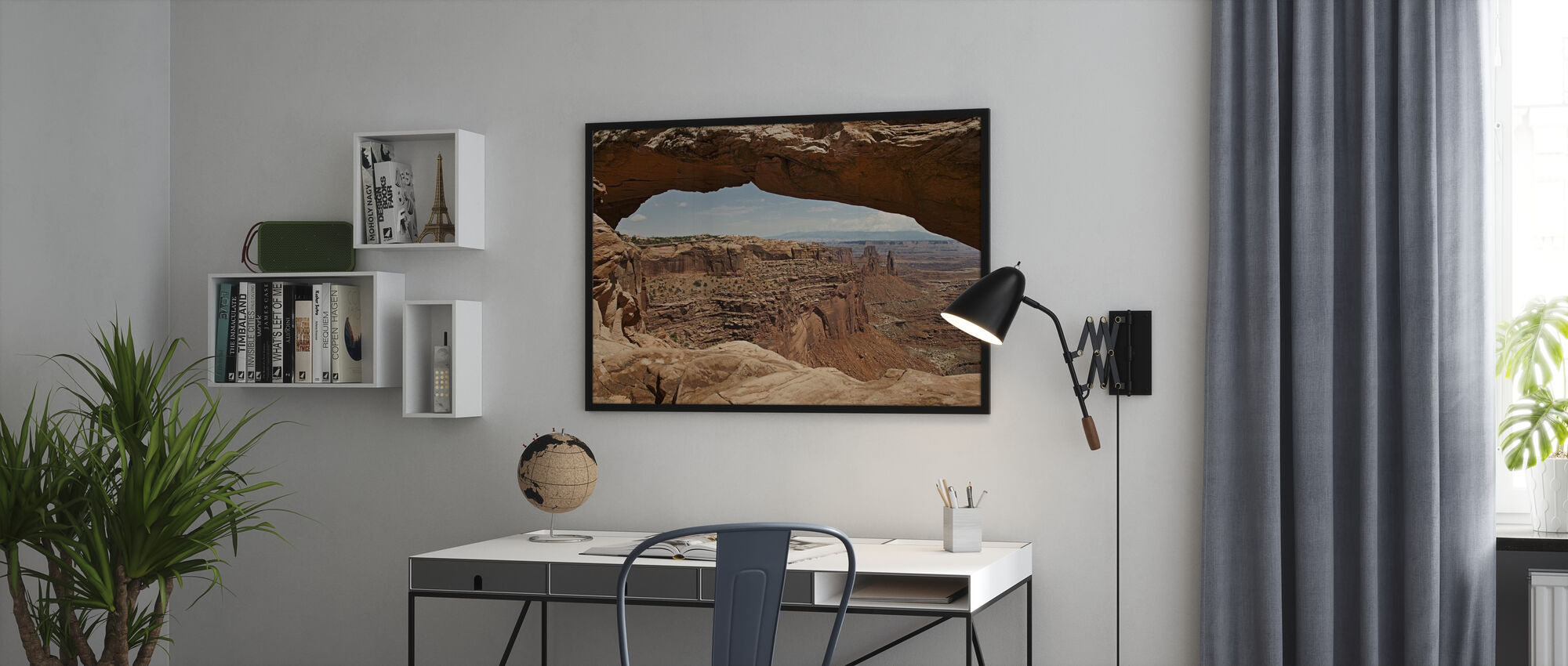 Mesa Arch - Framed print - Office