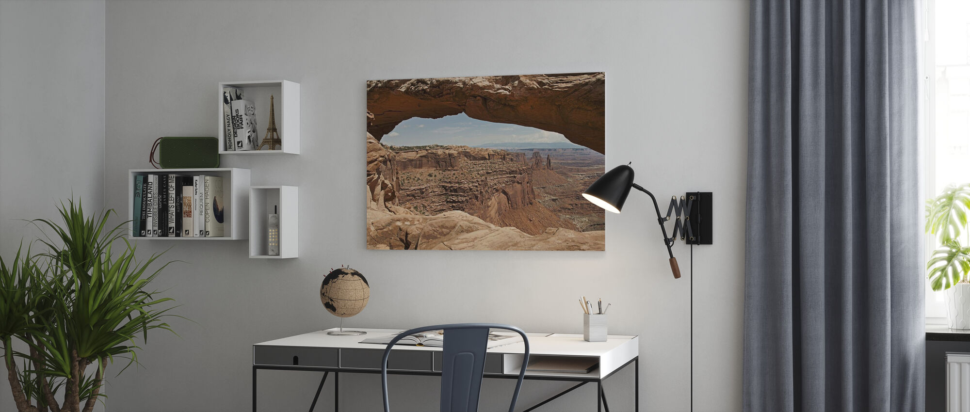 Mesa Arch - Canvas print - Office
