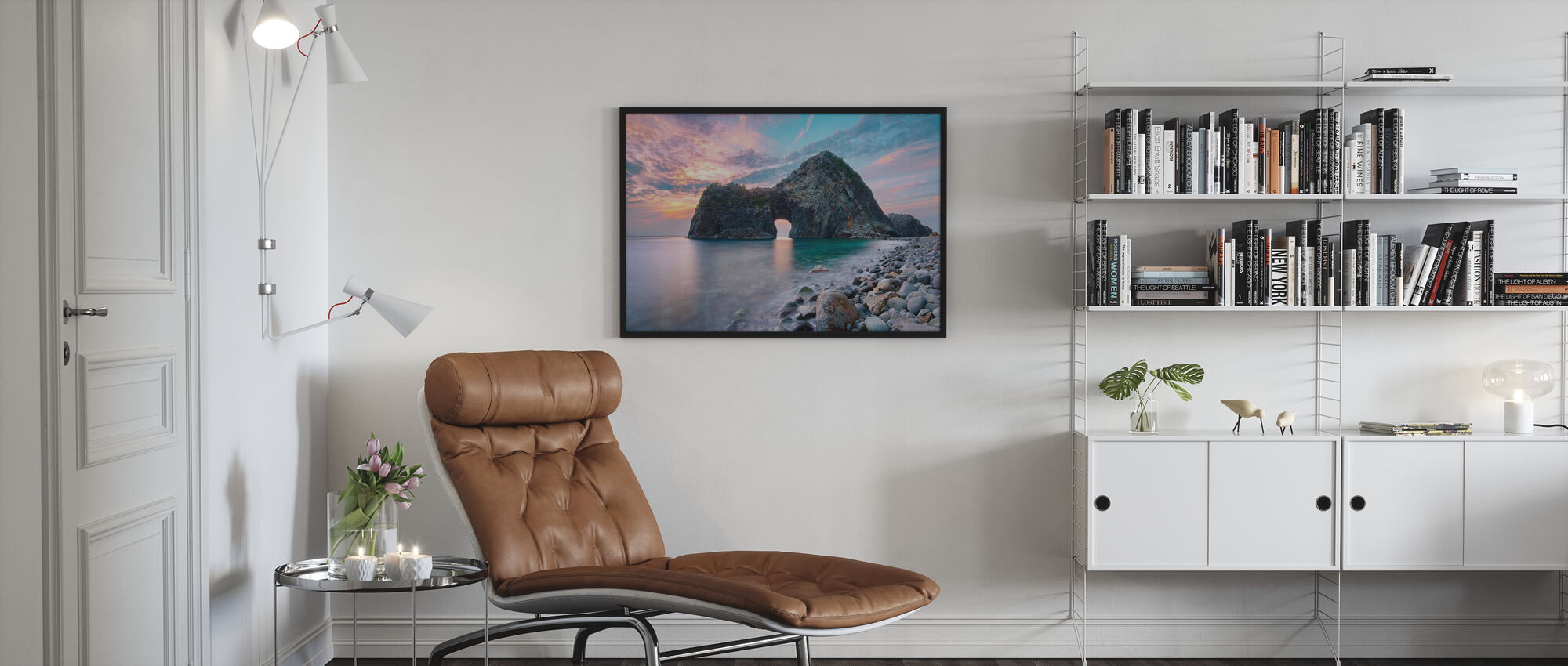 Rock Gate Senganmon - Poster - Living Room