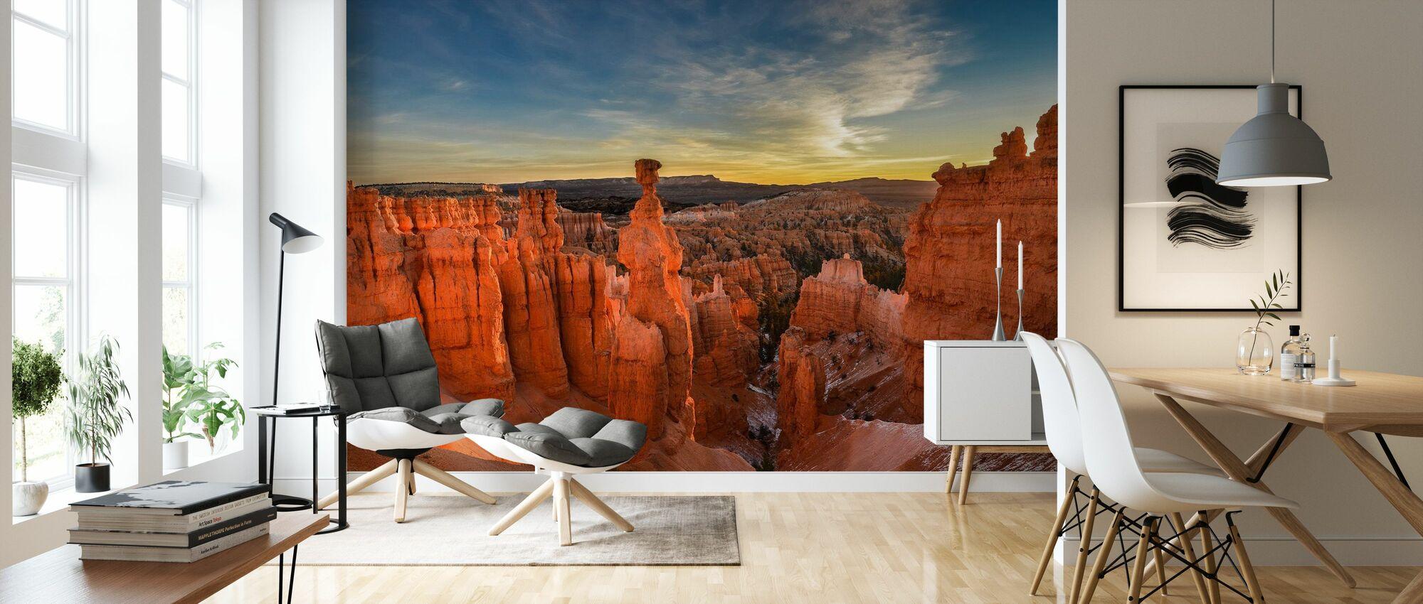Thor's Hammer - Wallpaper - Living Room