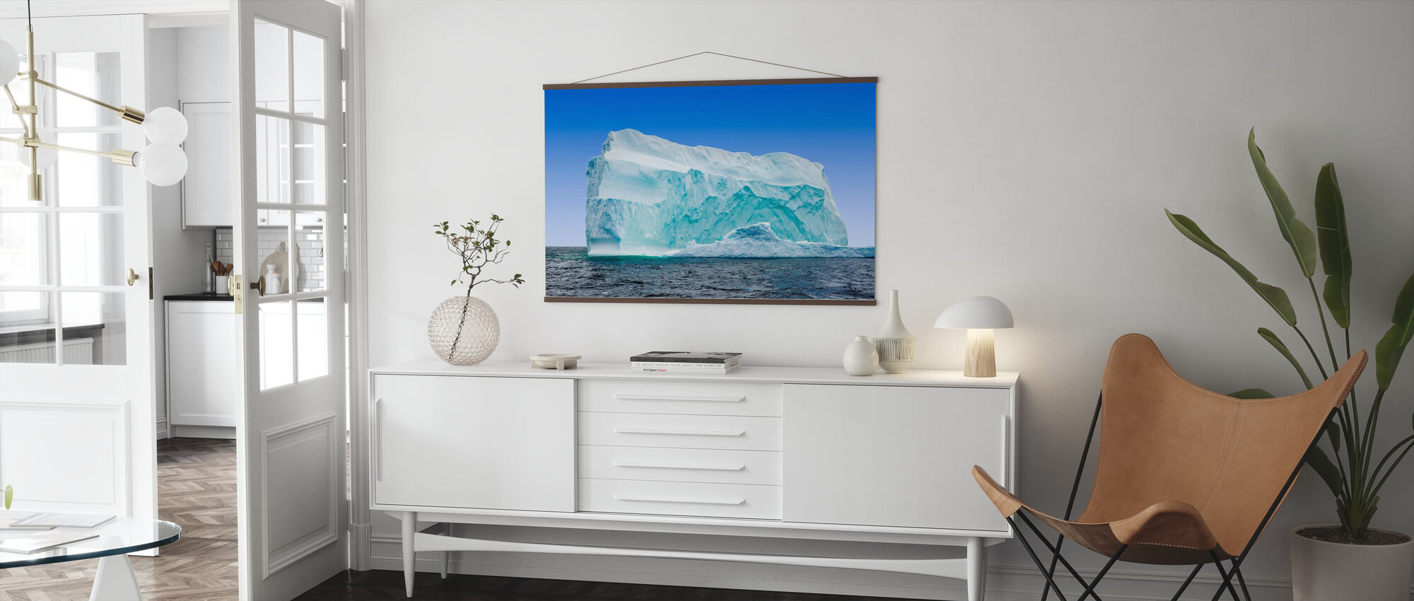 Iceberg off the Newfoundland Coast - Poster - Living Room