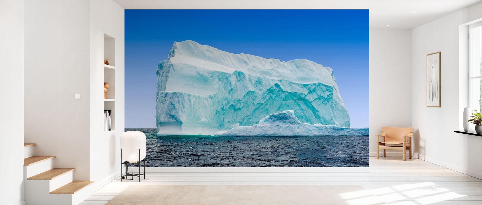 IJsberg voor de kust van Newfoundland - Behang - Gang