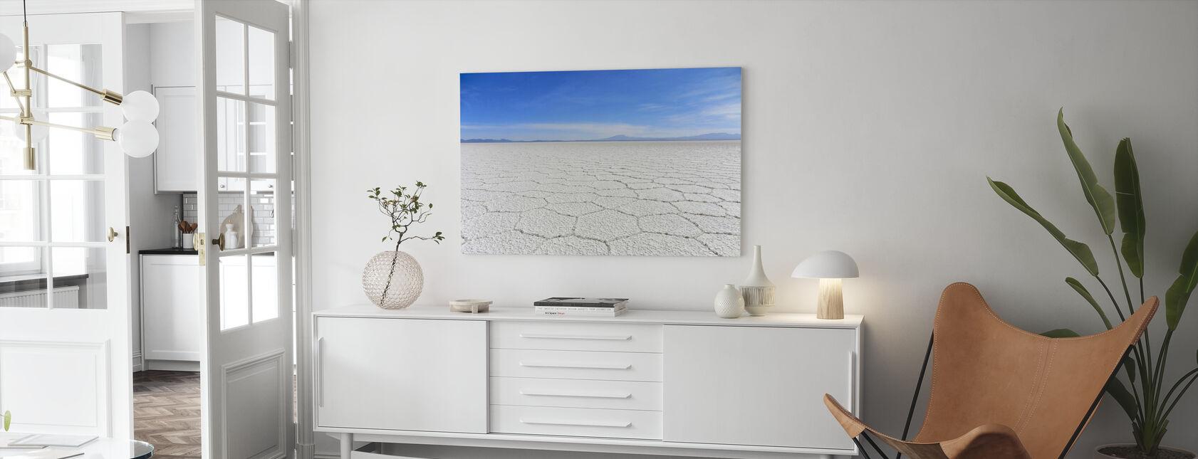Salt Desert - Canvas print - Living Room