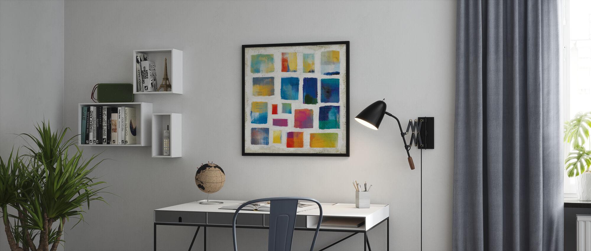 Vibrasjoner Square - Innrammet bilde - Kontor