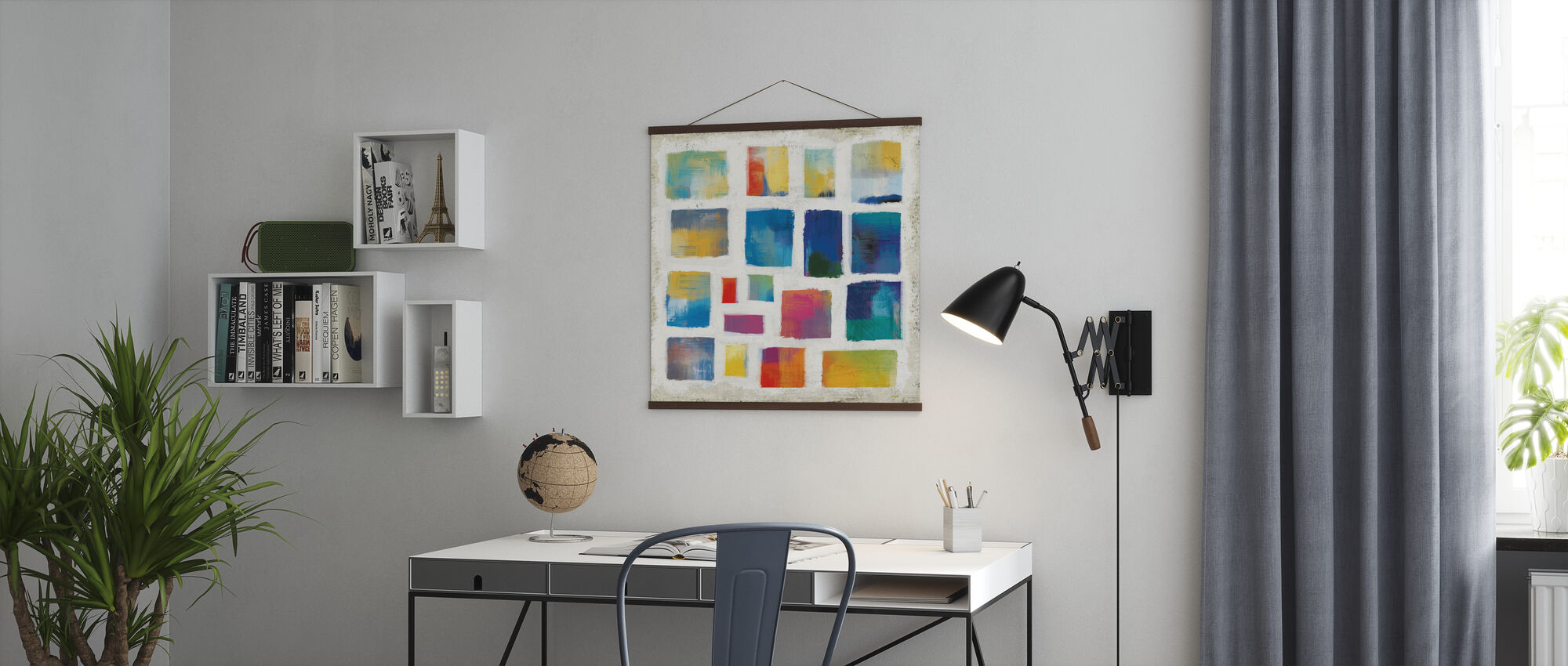 Vibrations Square - Poster - Office