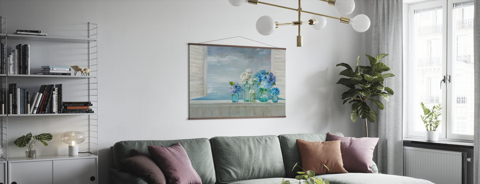 A Beautiful Day at the Beach - Poster - Living Room
