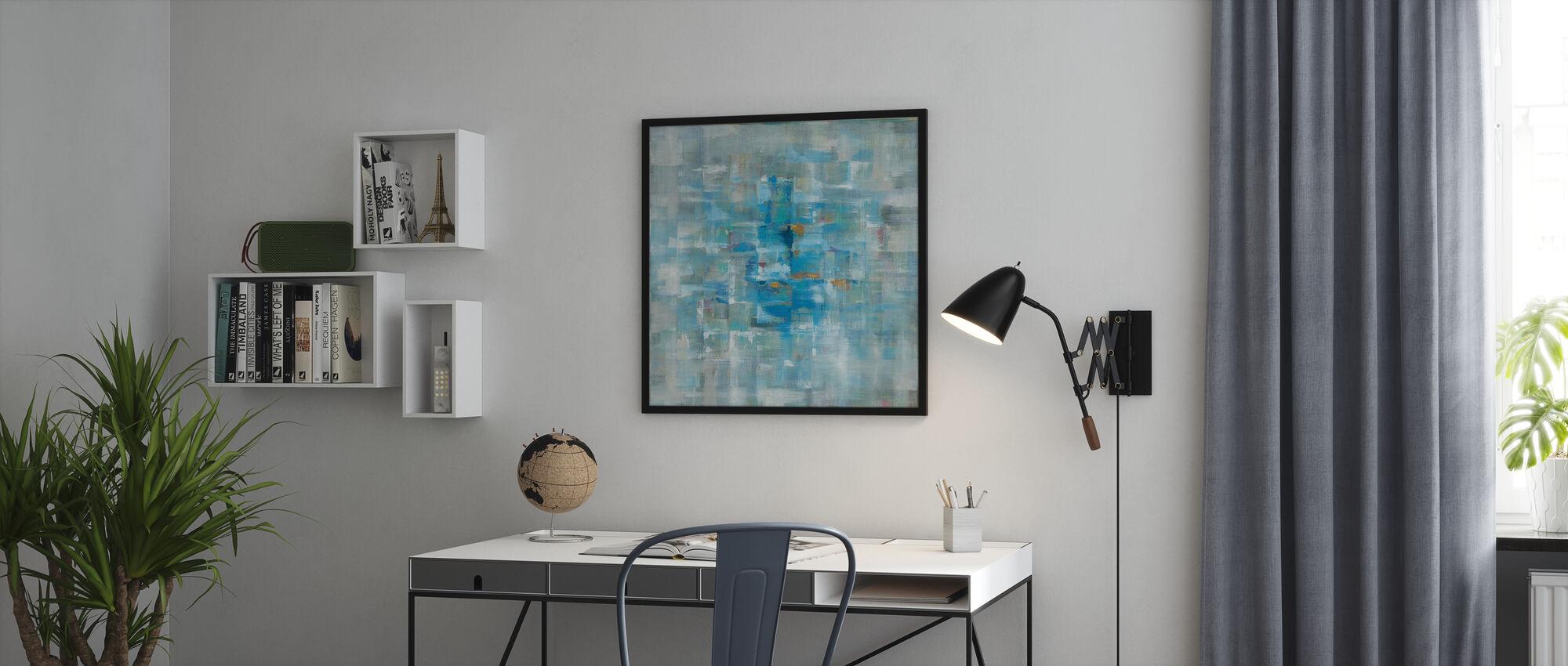 Abstrakte Quadrate - Poster - Büro