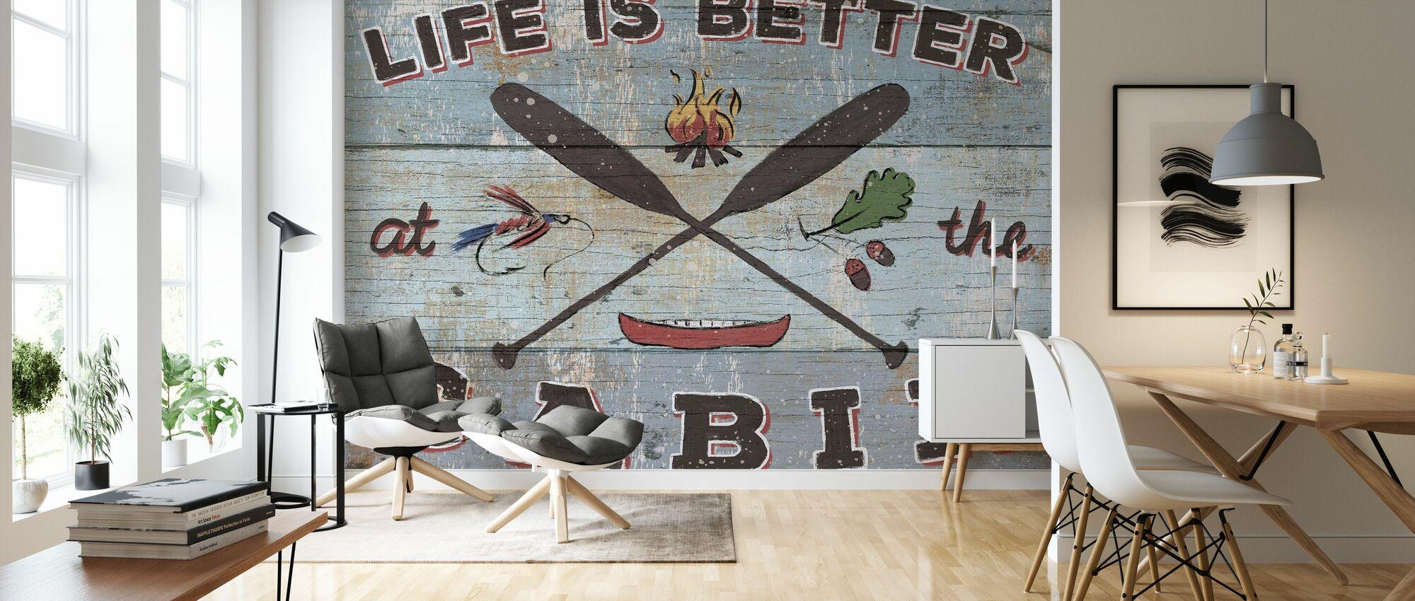 Cabin Fever I - Wallpaper - Living Room