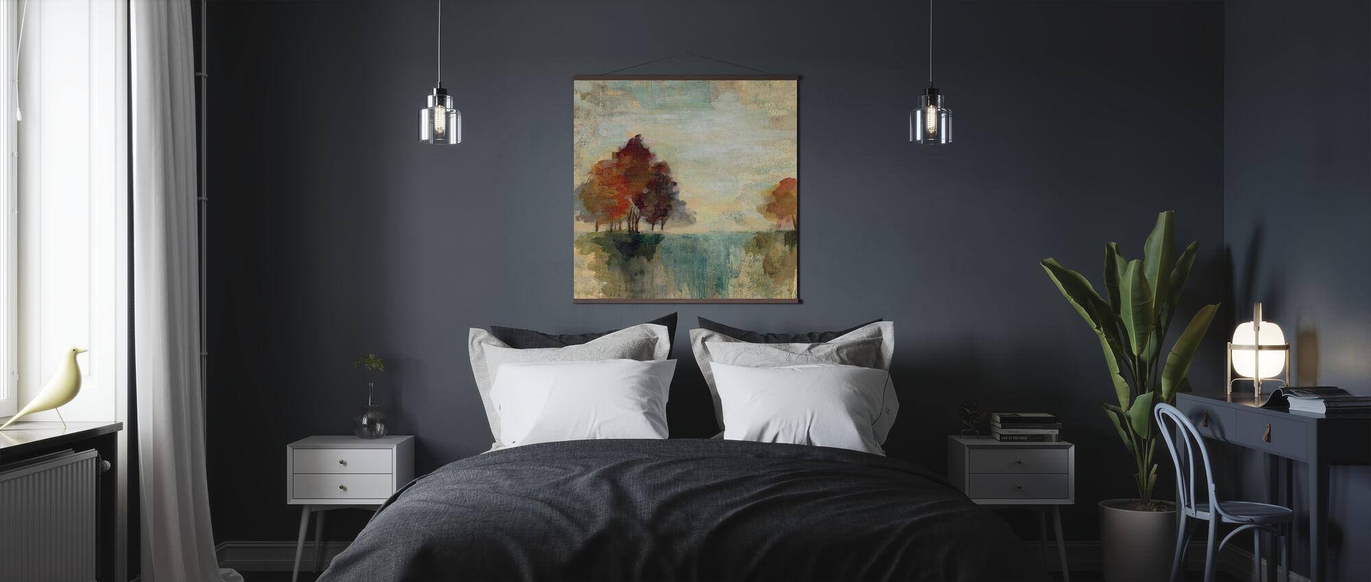 Landscape Monotype - Poster - Bedroom