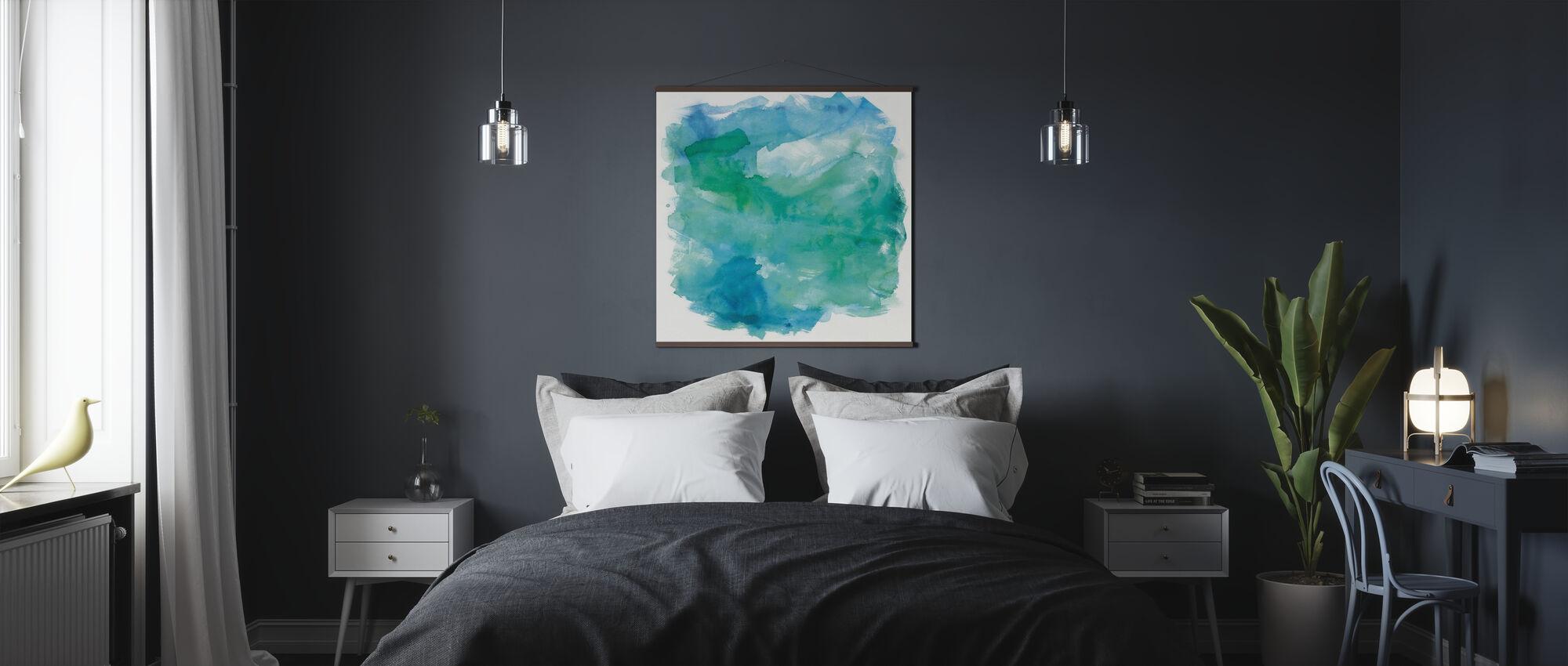 Seeglas - Poster - Schlafzimmer