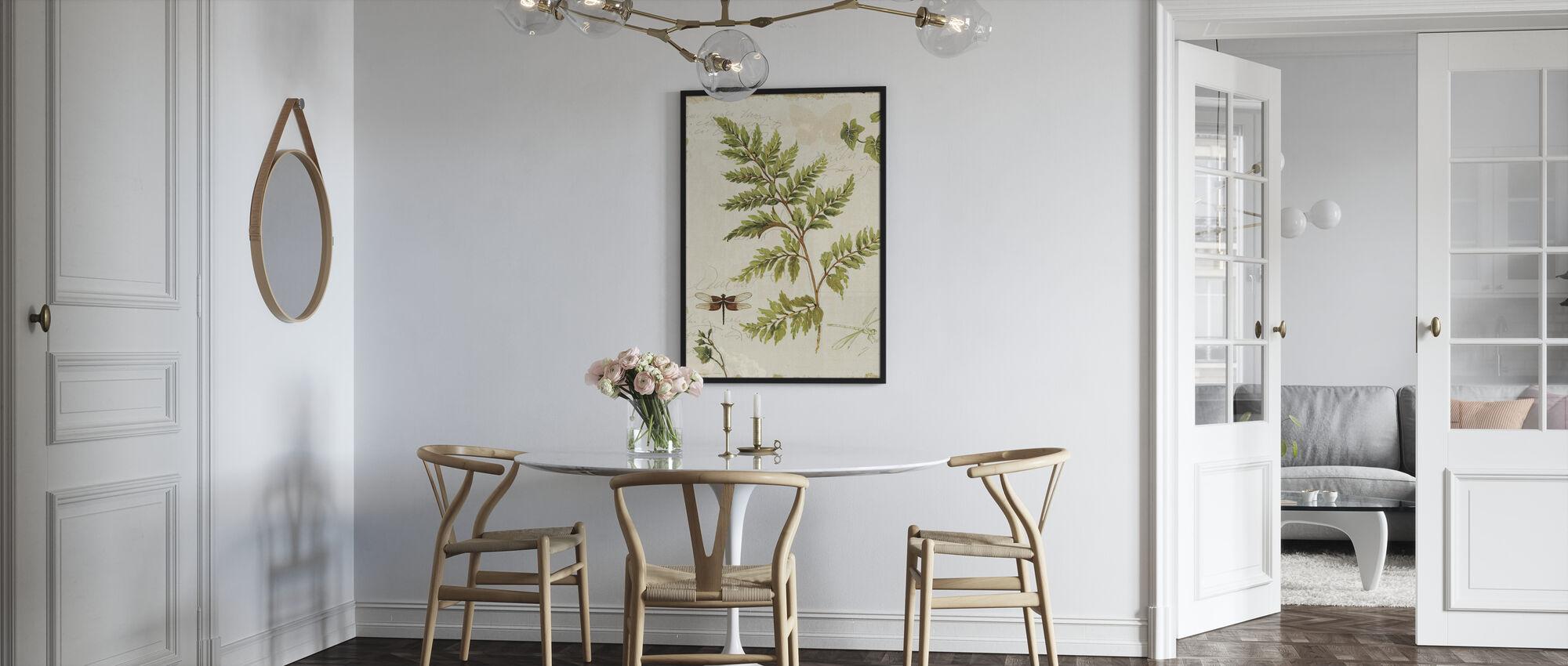 Ivies och Ormbunkar - Poster - Kök