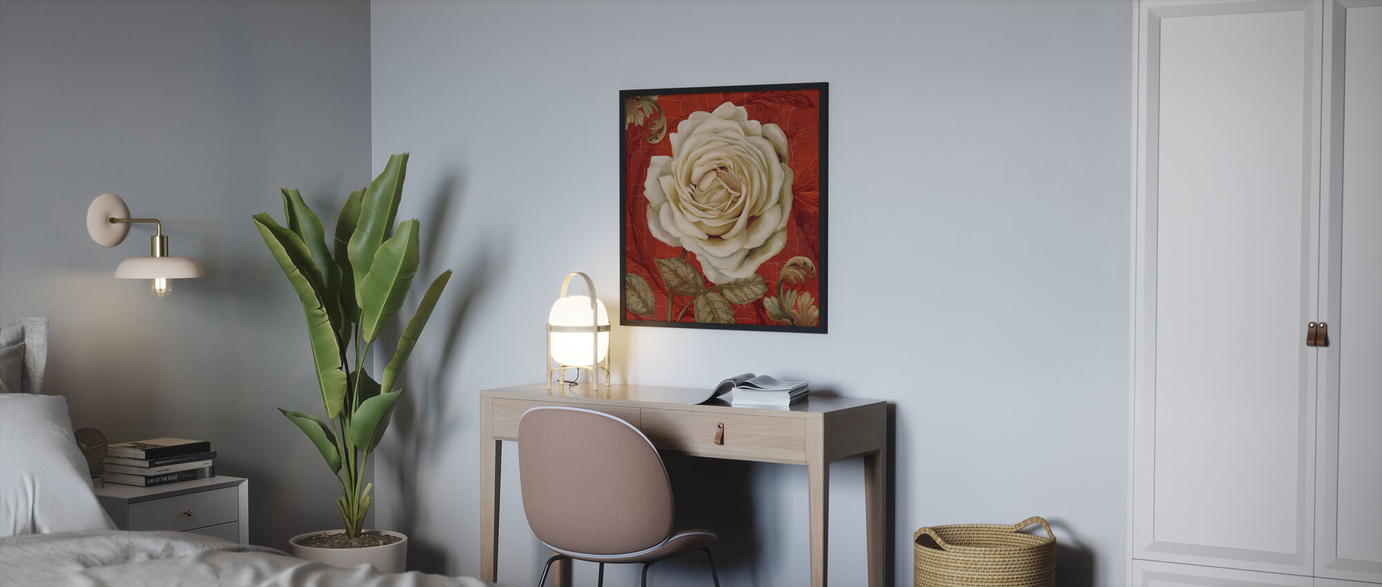 Red Bourgeoisie 2 - Poster - Bedroom