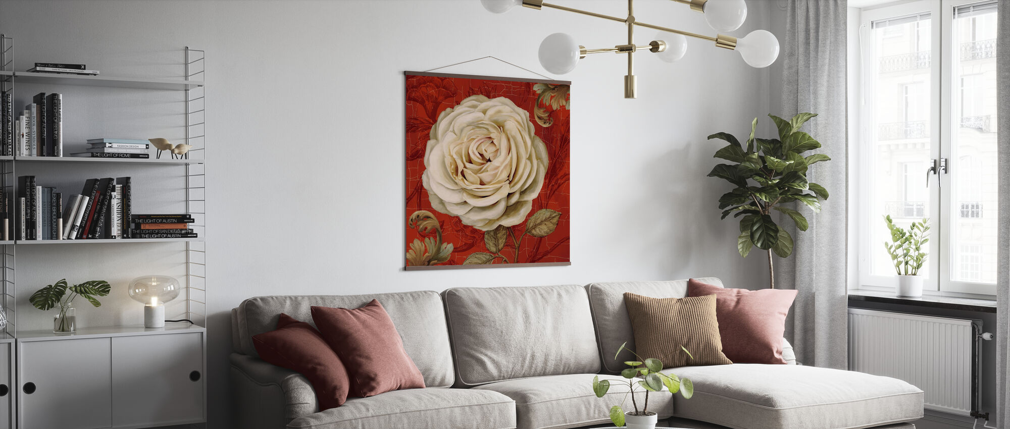 Red Bourgeoisie - Poster - Living Room