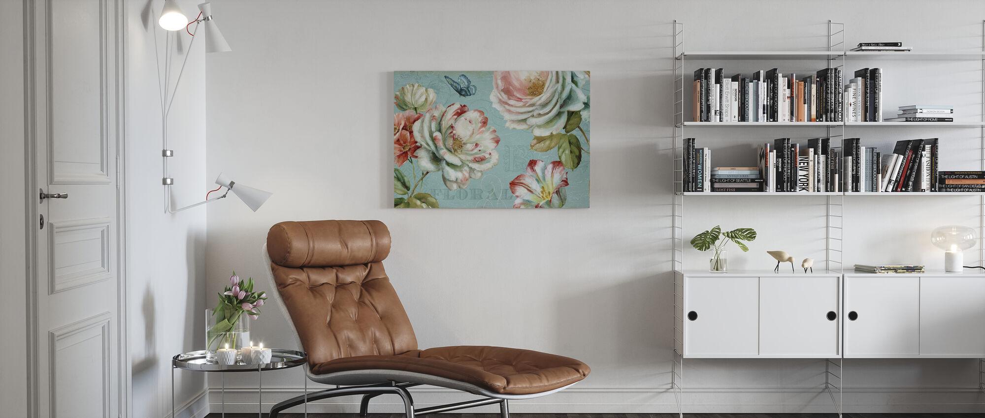 Frühlingsromantik - Leinwandbild - Wohnzimmer