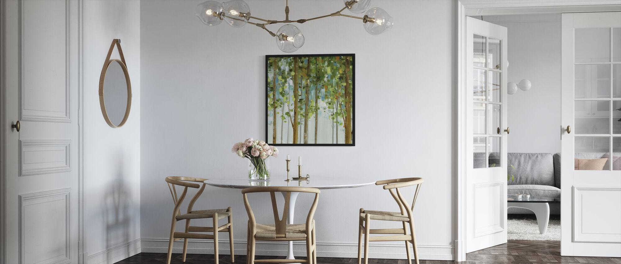 Forest Study - Framed print - Kitchen