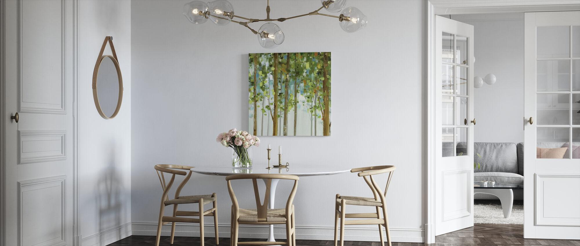 Waldstudie - Leinwandbild - Küchen