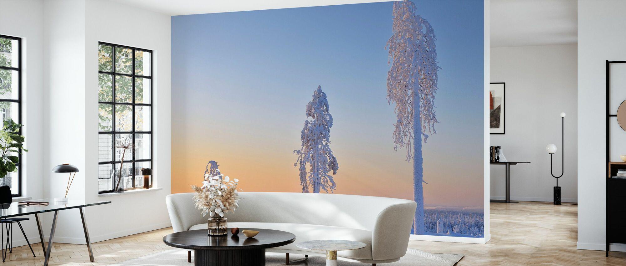 Ostrobothnia in Winter Dress - Wallpaper - Living Room