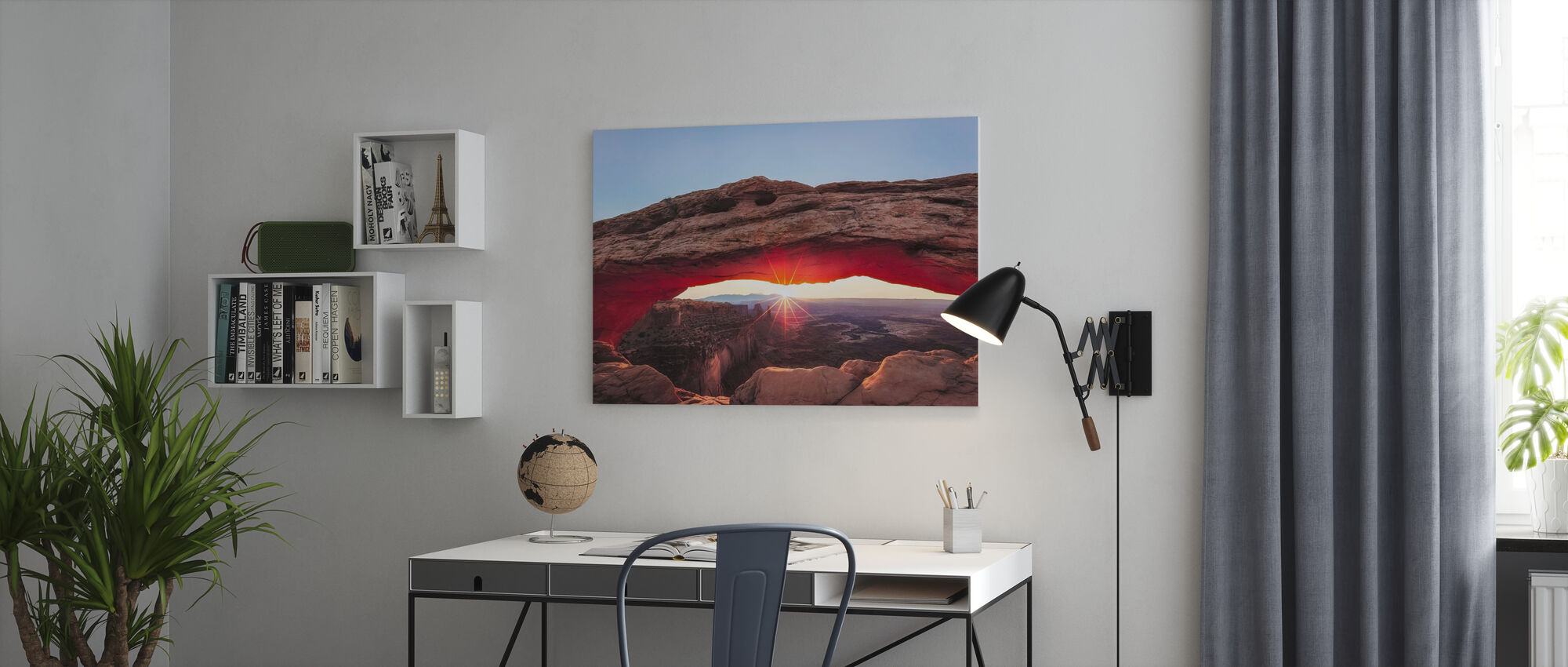 Sunset Crest - Canvas print - Office