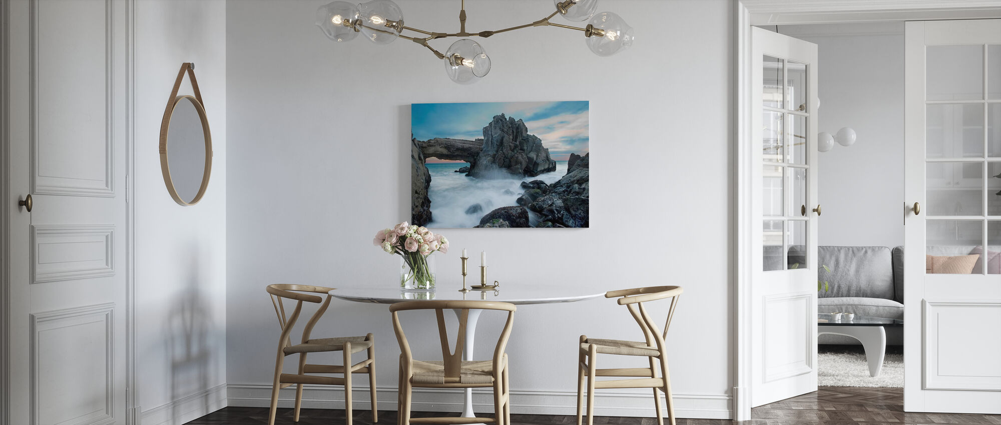 Dramatische boog - Canvas print - Keuken