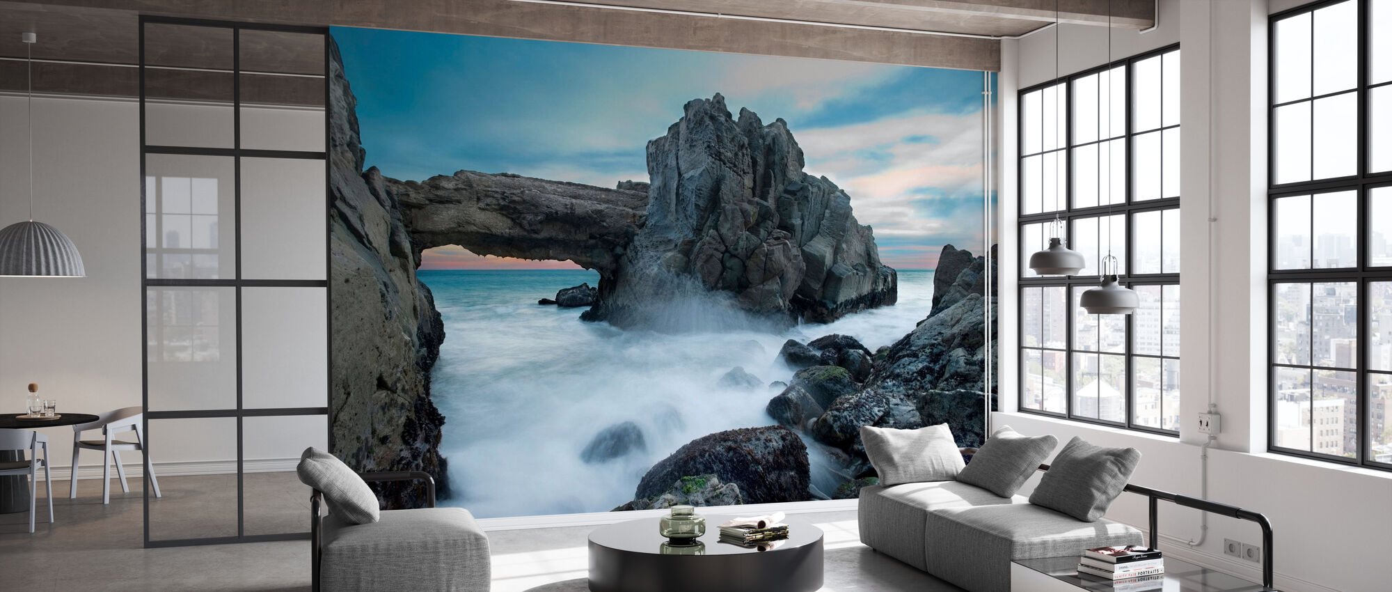 Dramatic Archway - Wallpaper - Office