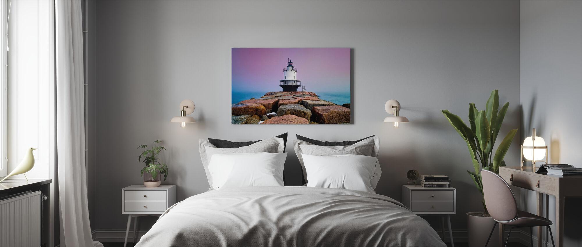 Spring Point Light - Canvas print - Bedroom