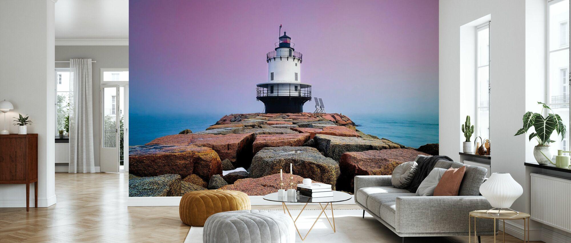 Spring Point Light - Wallpaper - Living Room