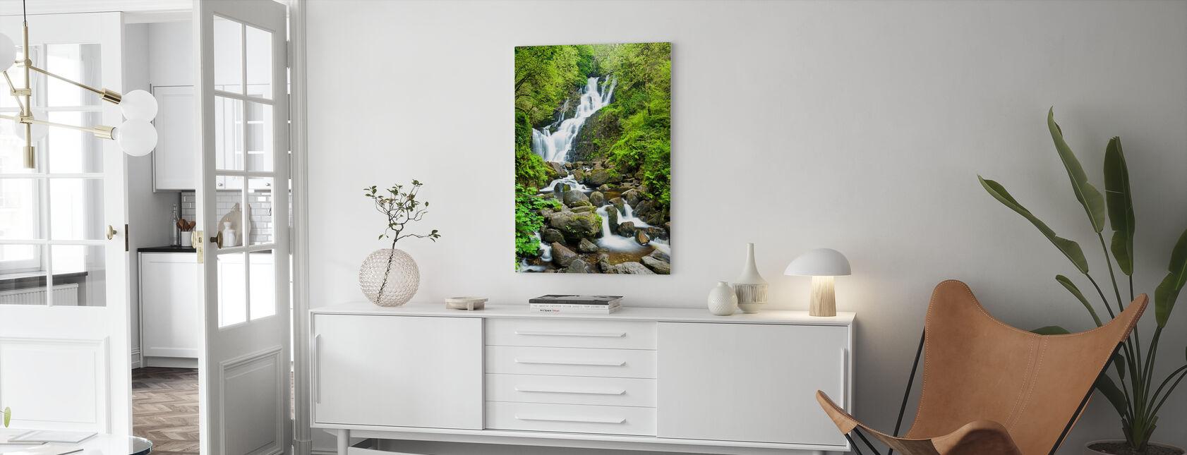 Torc-waterval - Canvas print - Woonkamer
