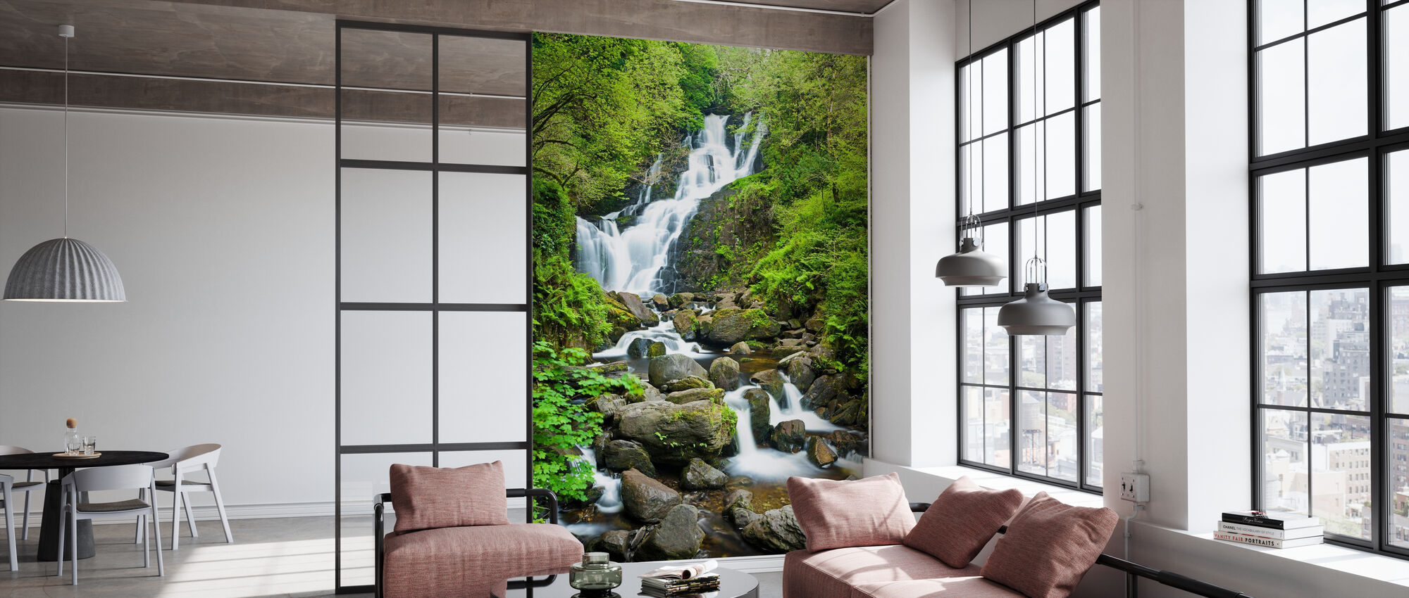 Torc Waterfall - Wallpaper - Office