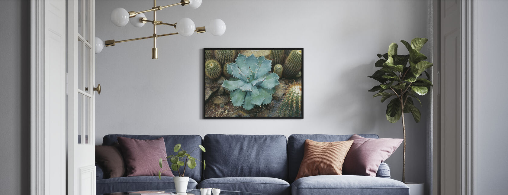 Agave Succulent - Poster - Living Room