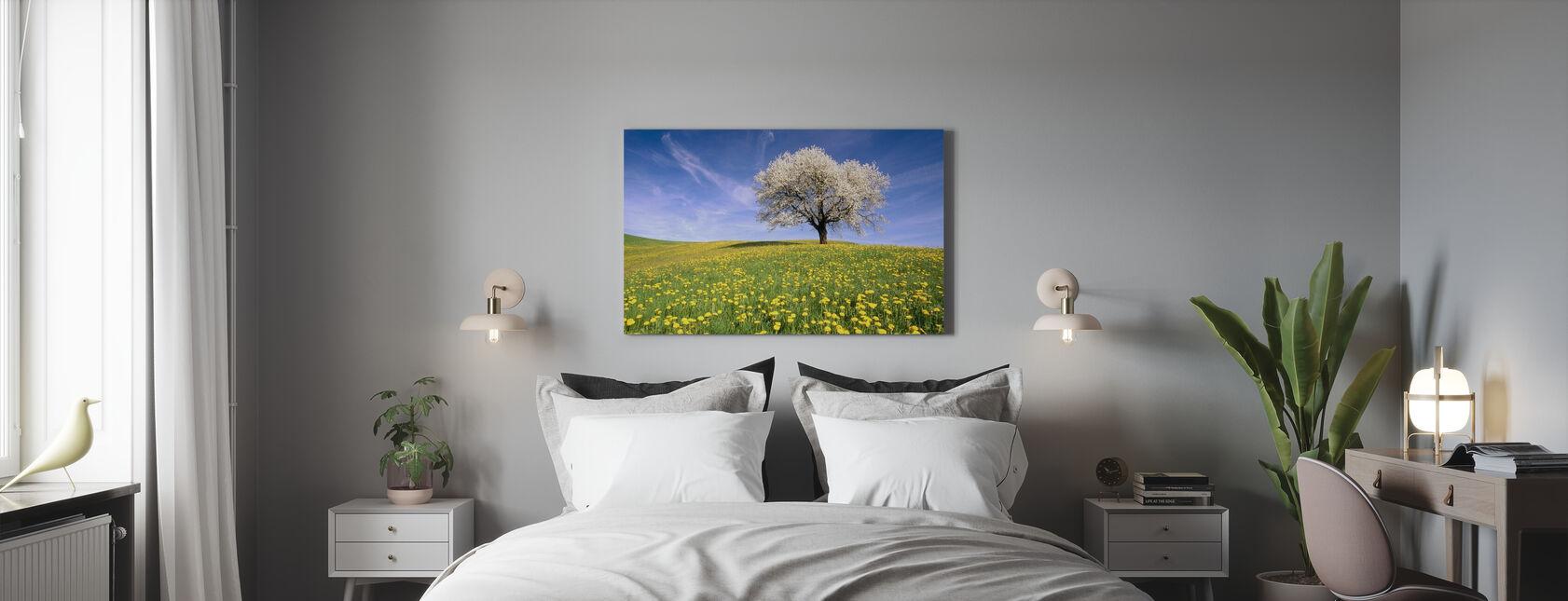 Dandelion Meadow - Canvas print - Bedroom