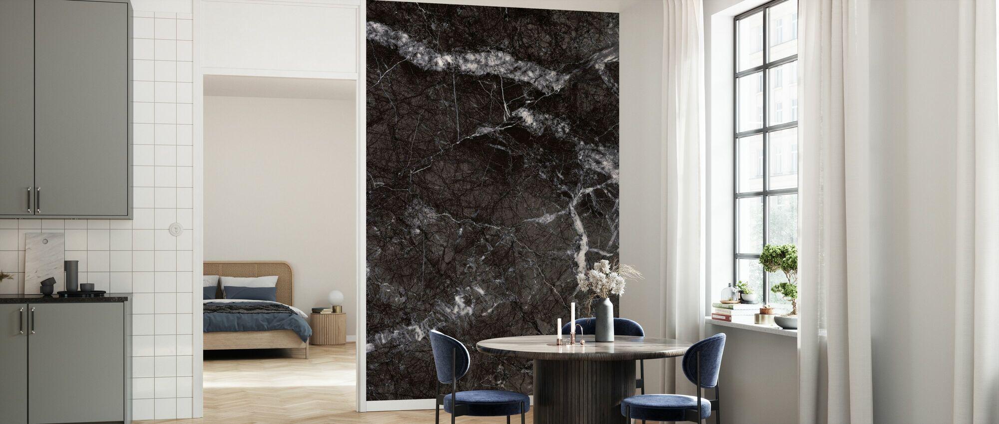 Grå marmor Nærbilde - Tapet - Kjøkken