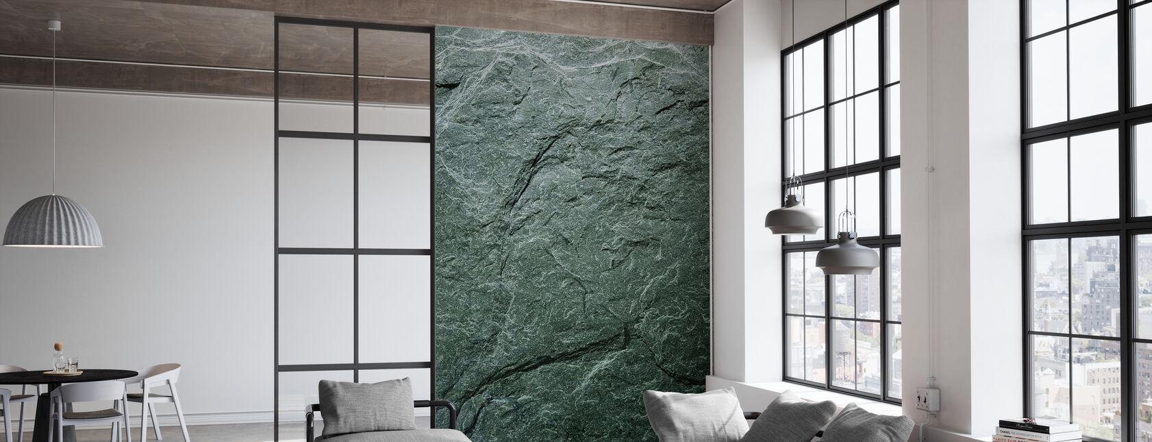 Greengray Slate - Wallpaper - Office
